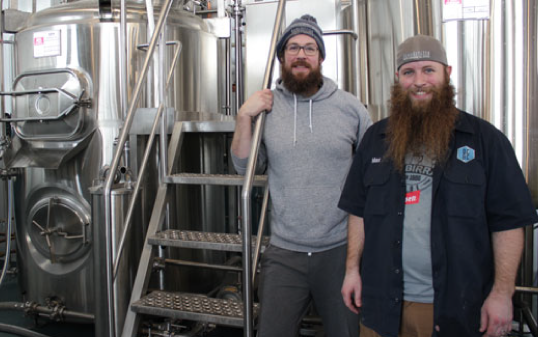 owners of Dual Citizen brewing